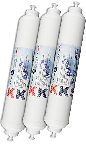 Kks 3 Wasserfilter Für Samsung Lg Ge Daewoo Miele Side By Side
